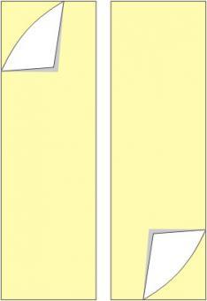 Montagehilfe (doppelseitig klebend) für alle (Alu und Kunststoff) Fahnen und Nasenschilder