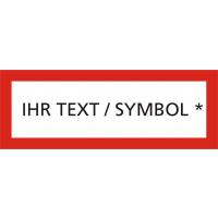 Ihr Text/Symbol Siebdruck bis zu 2 Farben