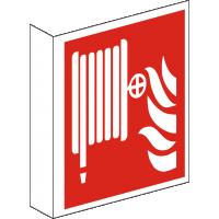 Fahnenschild Löschschlauch nach ISO 7010 F 002
