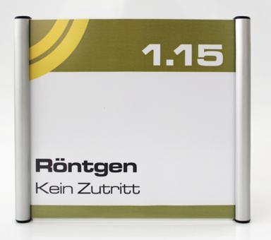 Türschild System PR-174, Höhe 150mm