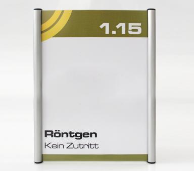 Türschild System PR-174, Höhe 210mm