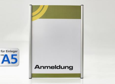Wandschild System 174, A5-Hochformat