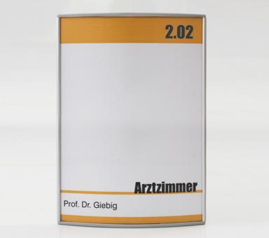 Türschild System PR-2002, 150x150mm
