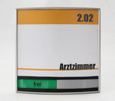 Türschild System PR-2002, mit frei / belegt-Anzeige