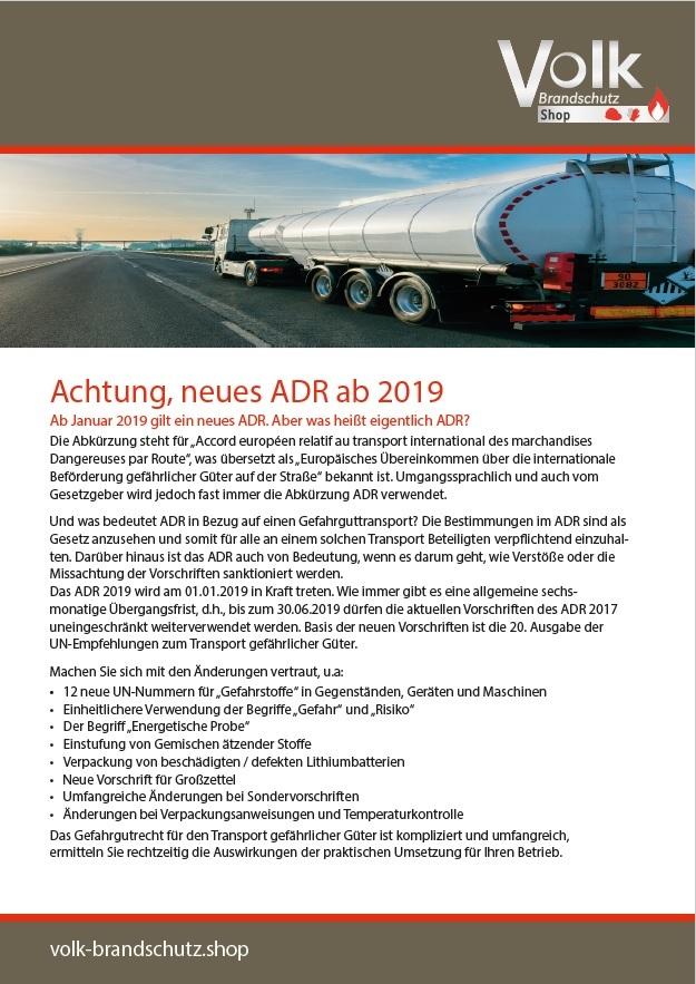 Informationsblatt ADR
